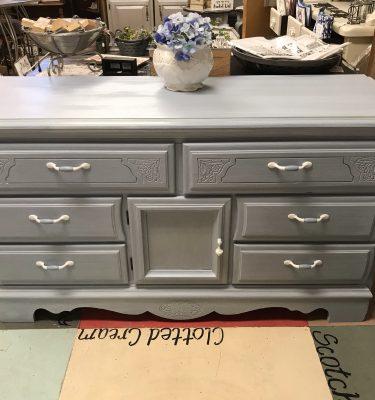 Blue & White Dresser