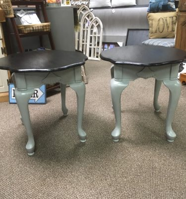 Black & Gray End Table