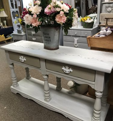 2-Drawer Sofa/Entry Table