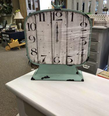 Green Nautical Table Clock