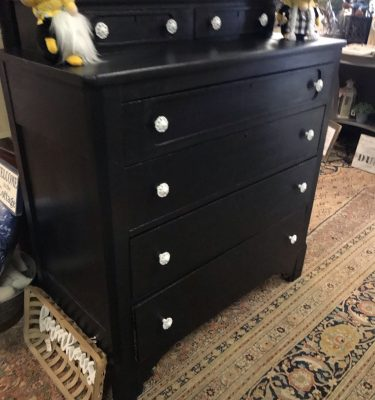 Black 6-Drawer Dresser